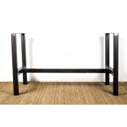 heraclite pied de table structurel en metal sur mesure