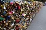2014. Paris Bridge Locks
