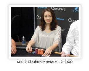 Liz at the table