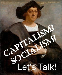 Dr. Johannes Ramirez Boden - Vitality and Wellness Centers:  Off Topic - Capitalism! Socialism?  Let's Talk!