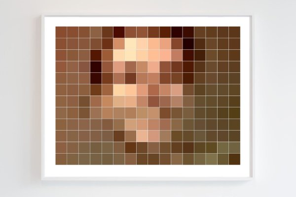 Monty (2018) by Chris Komater. Digital C-print, 30 x 38
