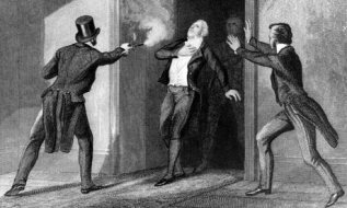 Spencer Perceval shot in the House of Commons