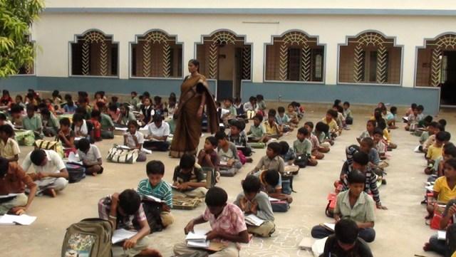 Education for the poor children.