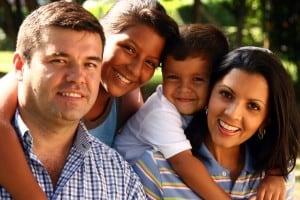 bigstock-Beautiful-Family-Enjoying-2085173
