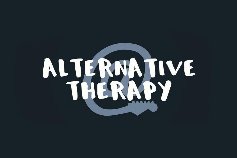 Logo for an Alternative Rock Band