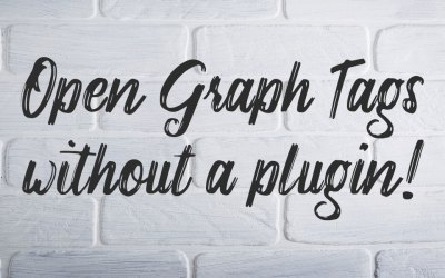 Insert Open Graph Tags into your WordPress Theme without a Plugin