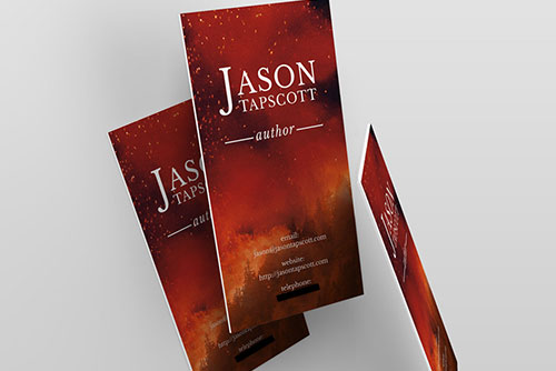 Updated Author Business Cards