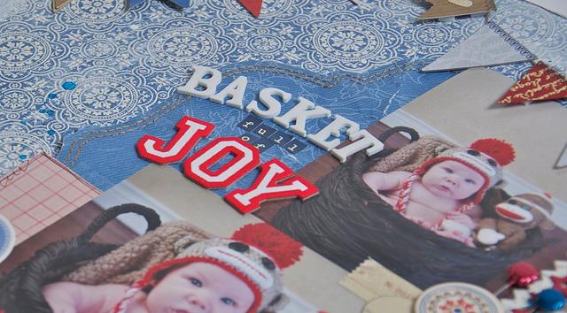 Basket of joy closeup