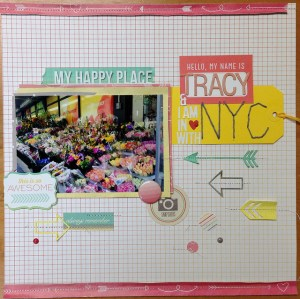 I am in love with NYC (Scraptastic kit)