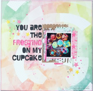 You are the Frosting on my Cupcake + free cut file