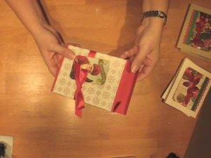 make a giftbox for A2 cards