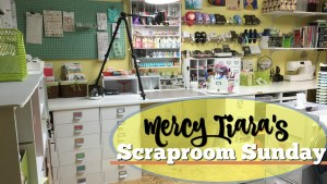 Scraproom Details 2: Scraps, letters, kit storage and more