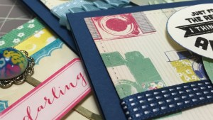 Cardmaking Process: 3 cards with Maggie Holmes Collection