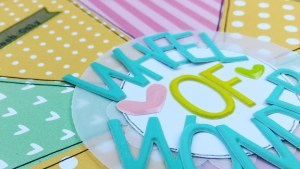 DIY Scrapbooking Challenge Wheel