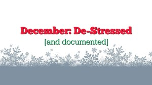 Process Video:December De-Stressed Day 2 & 5