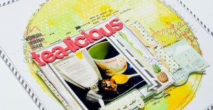 Scrapbooking Process: Tea-Licious