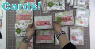 Card Process: 26 Oh So Succulent Cards