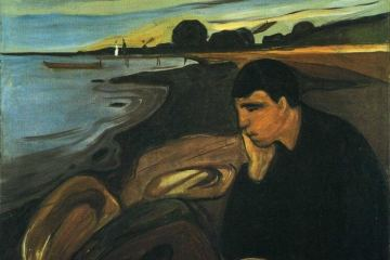 ege-undag-ustura-merdiven-alti-yazar-Melancholy-Edward-Munch
