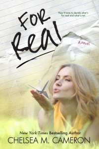 Book Review: For Real by Chelsea M. Cameron + Giveaway