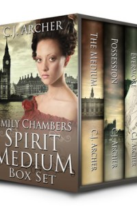 12 Days of Reviews and Giveaways: The Emily Chambers Spirit Medium Trilogy by C.J. Archer