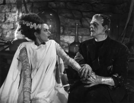 Bride of Frankenstein. One of numerous things inspired by Mary Shelley's  novel.