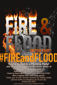 #FireandFlood TWITTER PARTAAAY + Sneak Peek! @VictoriaScottYA