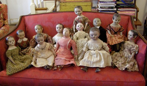 creepy ass dolls