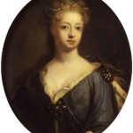 Sophia Dorthea, the King's wife.
