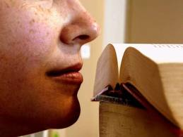book-sniffing