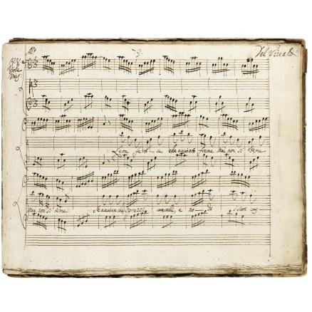 Original Vivaldi score auctioned at Sotheby's.
