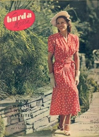 Here is a fun Pinterest board with some vintage covers of Burda magazine.