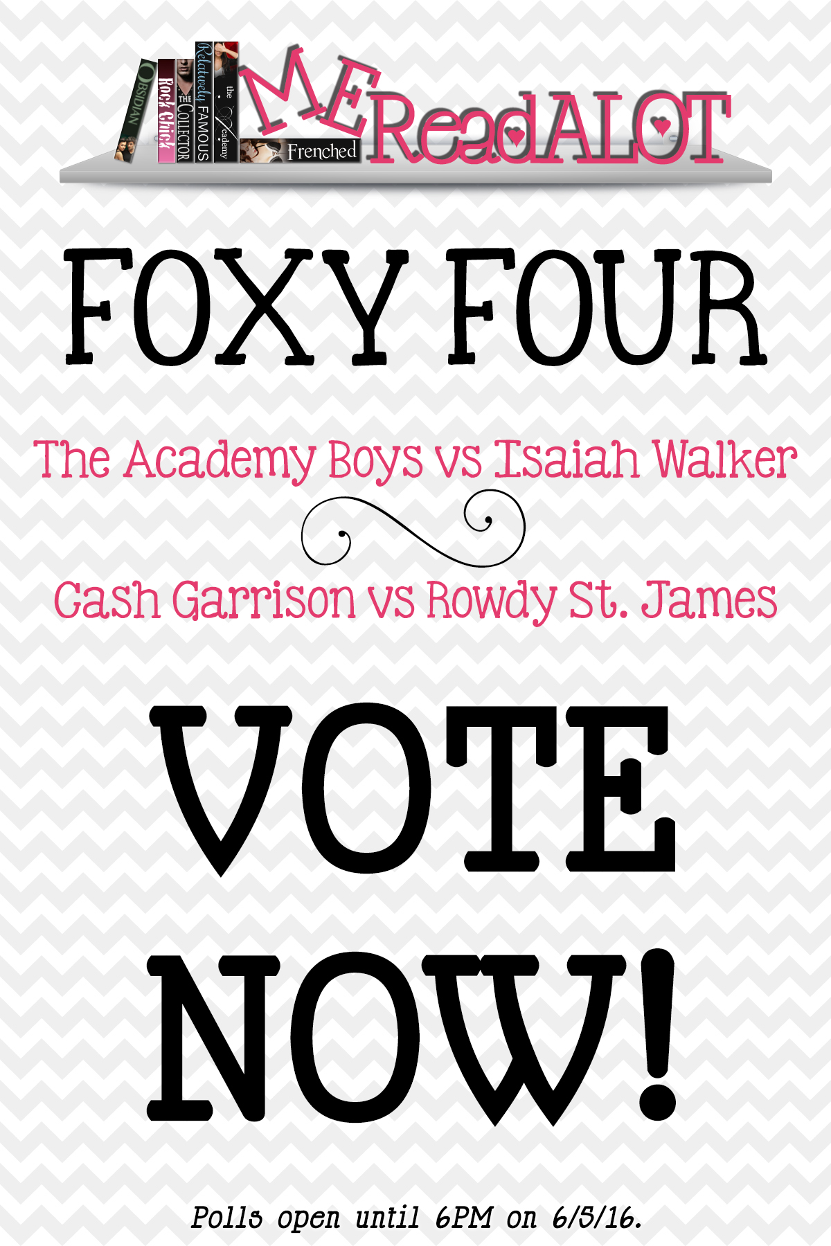 Book Boyfriend Battle – FOXY FOUR POLLS