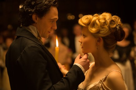 Crimson Peak is full of decadent eye candy and Howard's descriptions reminded me of the beautiful imagery from this film.