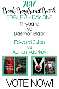 Book Boyfriend Battle – Edible 8 – Day One – VOTE NOW!