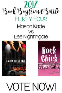 Book Boyfriend Battle – FLIRTY 4 – Mason Kade vs Lee Nightingale – VOTE NOW!