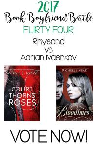 Book Boyfriend Battle – FLIRTY 4 – Rhysand vs Adrian Ivashkov – VOTE NOW!