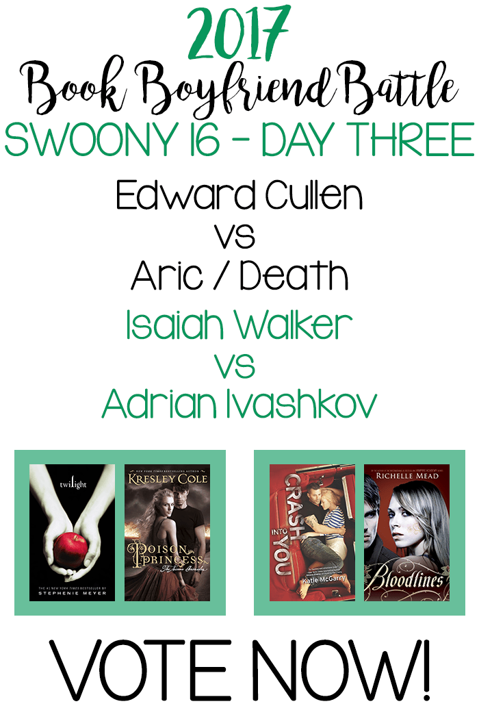 Book Boyfriend Battle - SWOONY 16 - Day Three