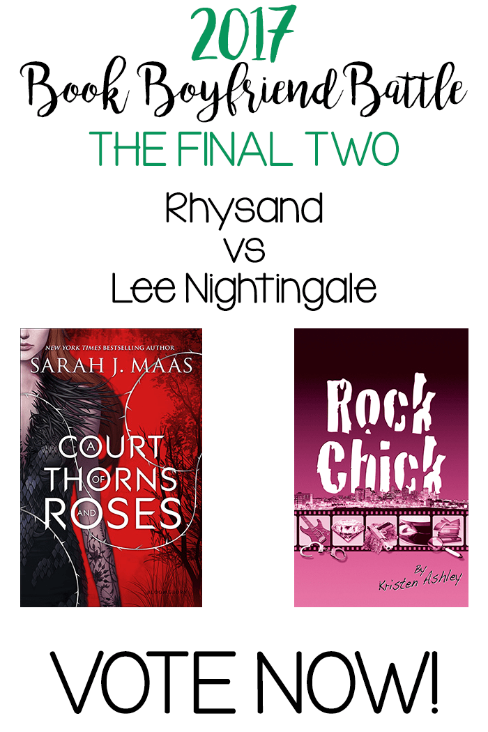 Book Boyfriend Battle – FINAL TWO – Rhysand vs Lee Nightingale – VOTE NOW!