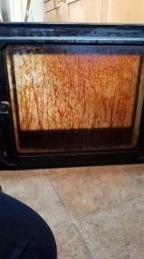 BA12 Home Help, cleaning an oven