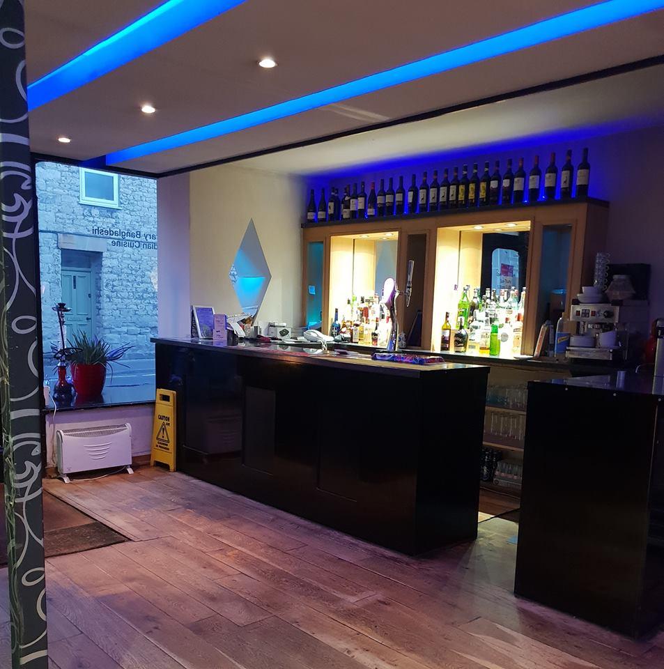 Indiglo Lounge interior