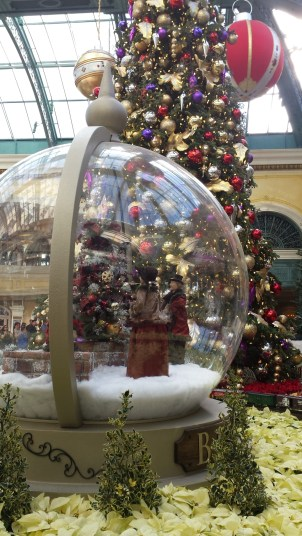 Snow Globe at the Bellagio