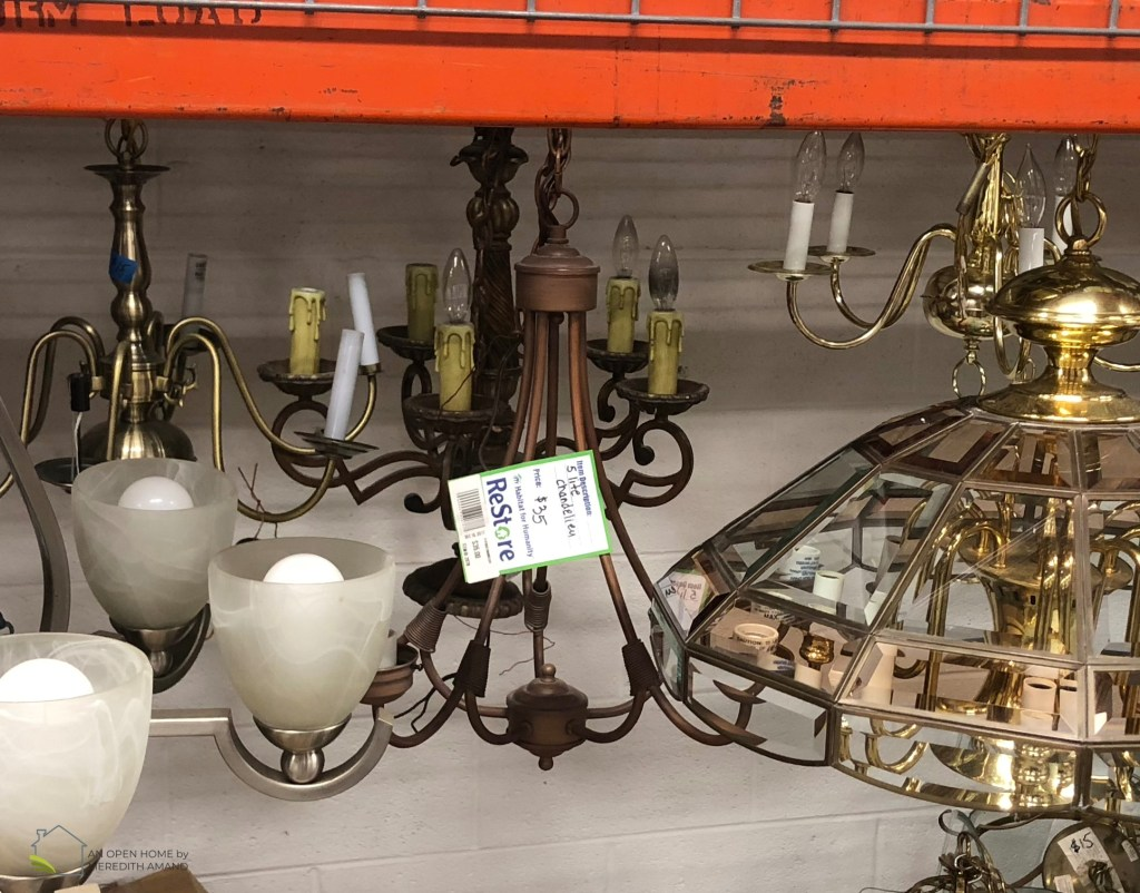 Why you need to shop at a Habitat for Humanity ReStore - Save tons of cash on your home goods while helping a great cause | MeredithAmand.com