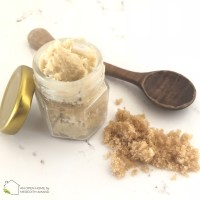 Brown Sugar and Shea Butter Lip Scrub