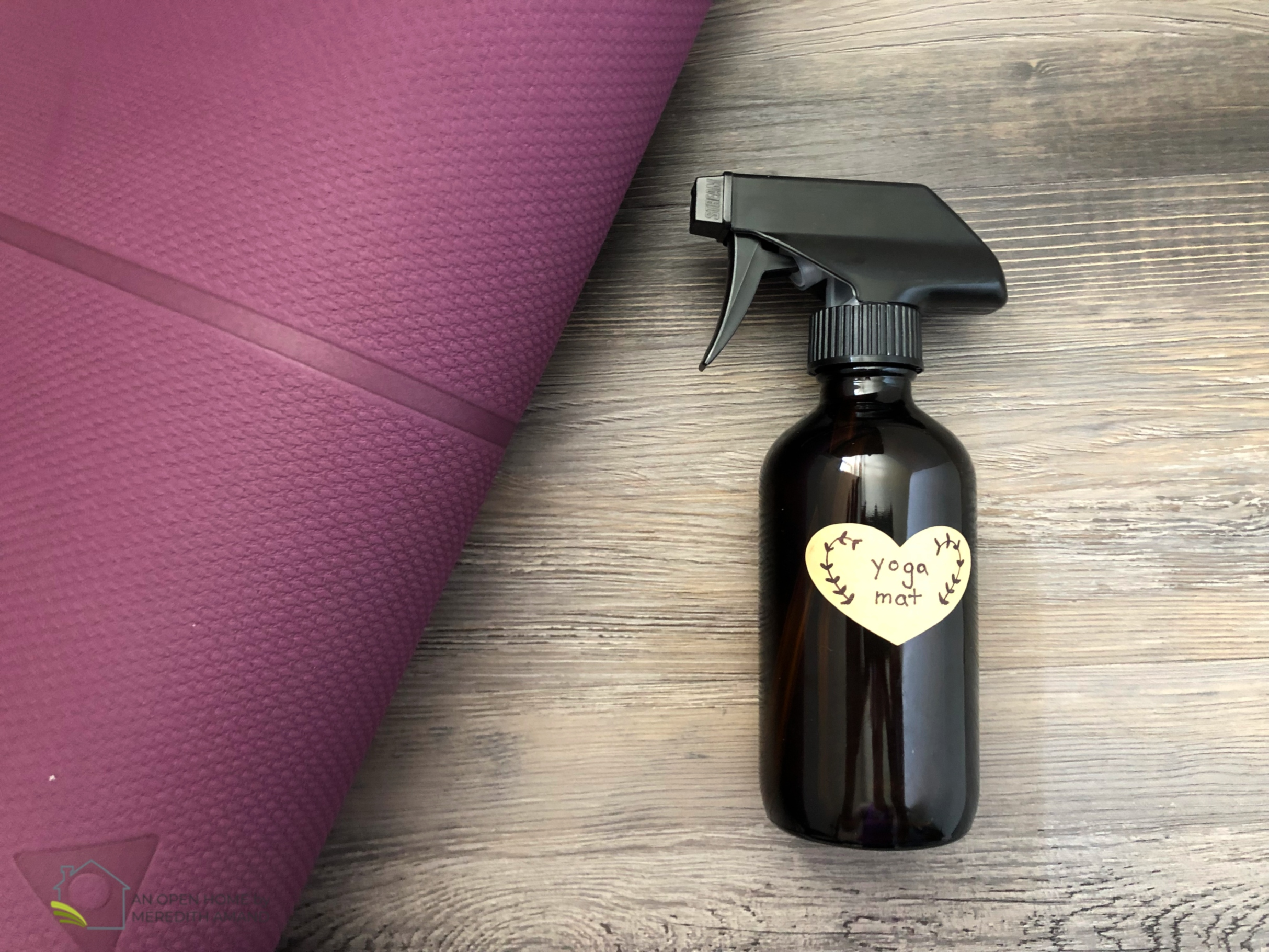 Yoga Mat Spray with Essential Oils
