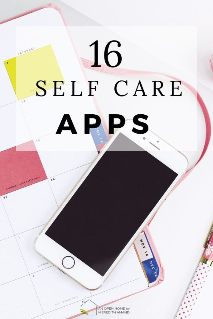 smartphone apps for self care