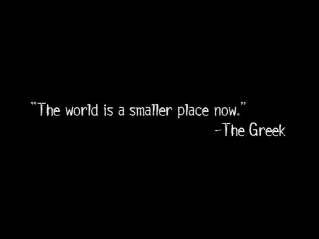 The greek epigraph
