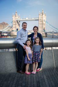 London Tower Bridge Family Photography