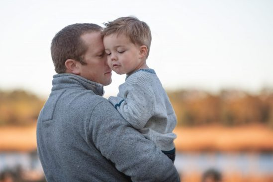pictures of dads with kids