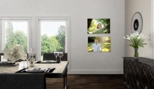 Decorate your home with your family photos