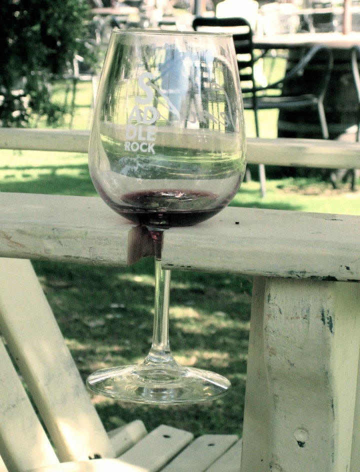 rocking wine chair
